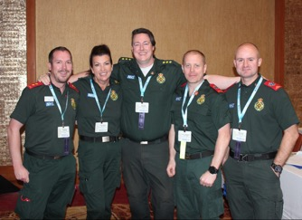Team from North East Ambulance Service, UK